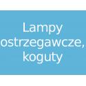 Lampy ostrzegawcze, koguty